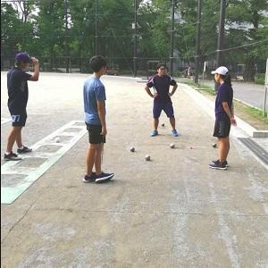 スポールブール練習