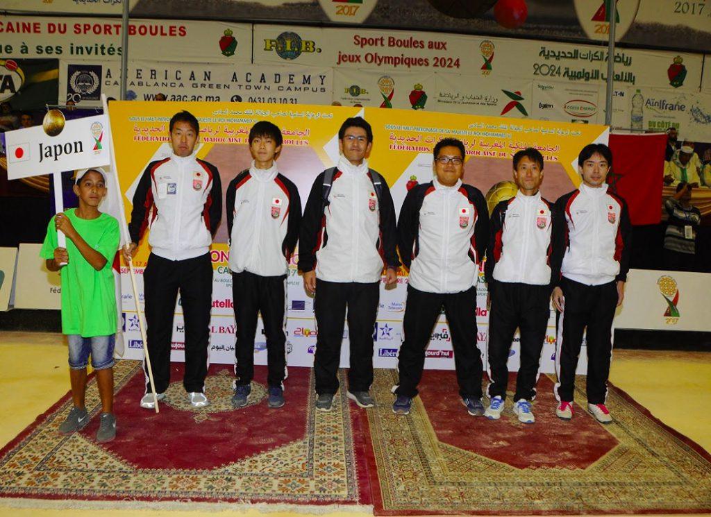 スポールブール2017男子世界選手権大会(モロッコ王国)