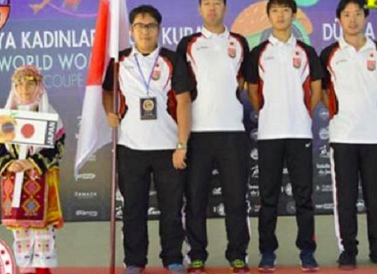 スポールブール2019男子世界選手権大会(トルコ)