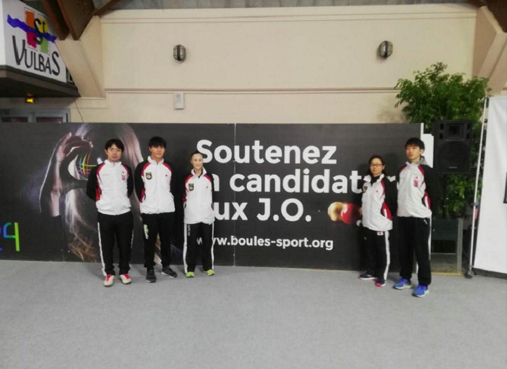 スポールブール2019国際ティール選手権大会(フランス)